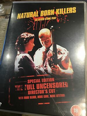 Natural Born Killers: Director's Cut DVD (2003) Woody Harrelson, Stone (DIR) • 2.50£