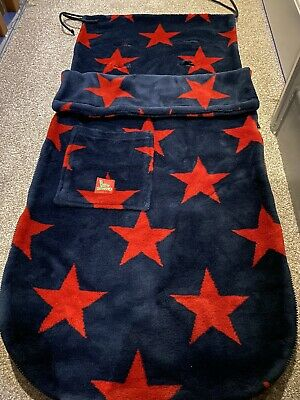 £20 • Buy Buggy Snuggle Navy Red Stars