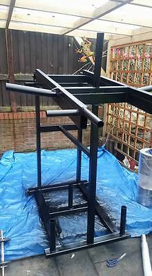 Strongman Viking Press Shoulder Press Olympic GYM £400 COLLECTED ! • 400£