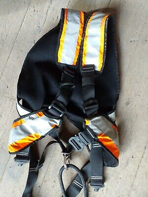 Harness Climbing Ppe Mountain Buidling Commercial Tree Pole Scaffold High Vis • 49.99£