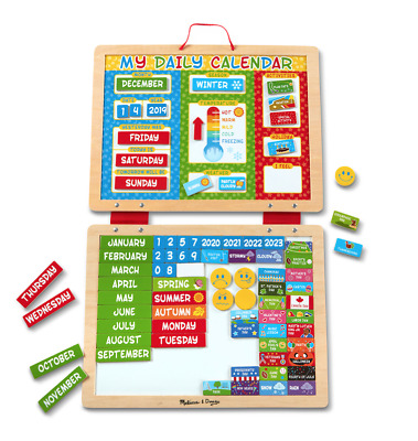 Melissa And Doug My Magnetic Daily Calendar - 19253 • 19.99£