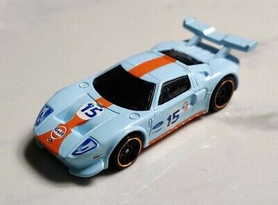 Ford GT LM Le Mans Race Gulf Blue Hot Wheels 1:64 Diecast Model Car MINT LOOSE • 0.99£