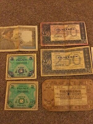 Old Foreign Coins And Notes • 10£