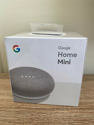 AU46 • Buy Google Home Mini. Chalk Colour. White & Grey. New In Original Package Sealed.