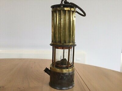 Amtique  Miners Lamp , Made By A Engineering Co. Ltd, Leeds • 64£