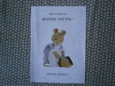 Hunca Munca  Beatrix Potter Knitting Pattern • 12£