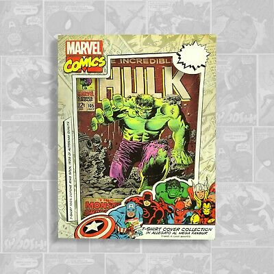 Marvel Comics Cover Collection T-Shirt - Random Colours - The Incredible Hulk • 6£