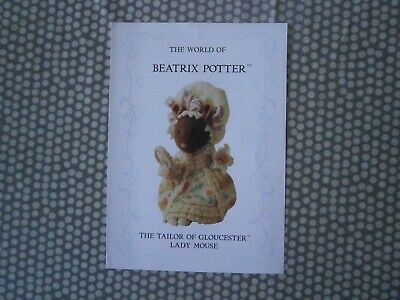 Beatrix Potter Knitting Pattern  Lady Mouse • 12£