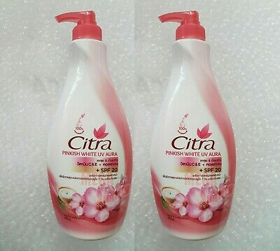 $ CDN63.75 • Buy 400ml X 2 Bottle Citra Lotion Sakura White UV Hand Body Moisturizers PA