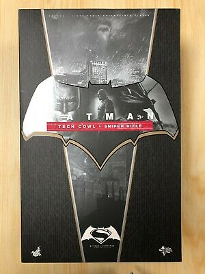 $ CDN776.54 • Buy Hot Toys MMS 342 Batman V Superman Dawn Of Justice Tech Cowl & Sniper Rifle USED