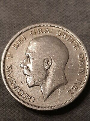 Half Crown Great Britain 1920 George V Silver Coin  • 21£