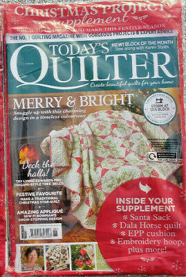 Todays Quilter Magazine Issue 68 ~ 2020 ~ New Sealed ~ • 8.95£