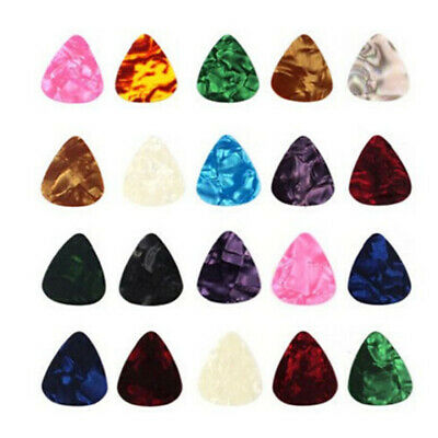 $ CDN1.30 • Buy Acoustic Bulk Celluloid Electric Smooth Guitar Pick Picks Plectrum 0.46mm *10
