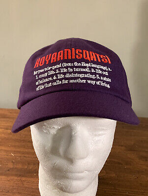 $ CDN113.65 • Buy Supreme Koyaanisqatsi 6-panel Hat/ Purple Os Fw20 Week 14 (in Hand) Authentic