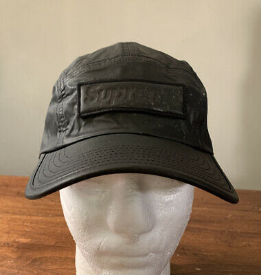 $ CDN101.95 • Buy Supreme Reflective Camp Cap Black Os/ Fw20 Week 14 (in Hand) Authentic, New