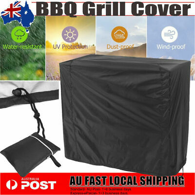 AU22.68 • Buy Burner BBQ Cover Waterproof Outdoor Gas Charcoal Barbecue Grill Protector