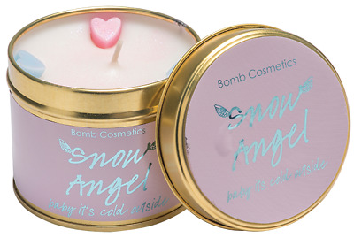 Bomb Cosmetics Snow Angel Tinned Candle - NEW!! • 9.99£