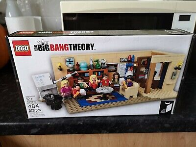 Big Bang Theory Lego Set 21302 Complete With Box & Instructions • 82£