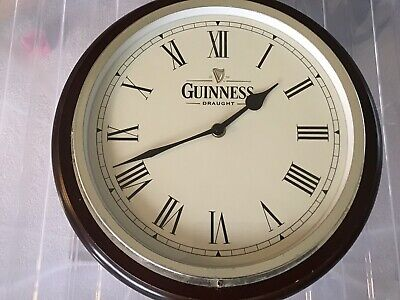Guiness Draught Wall Clock • 30£