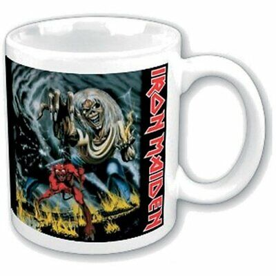 Iron Maiden Number Of The Beast Ceramic Mug Boxed Coffee Gift Mug Official Merch • 8.95£