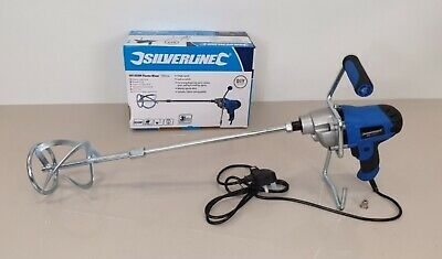 Heavy Duty Silverline 850W Cement Plaster Mortar PainT Mixer Mixing Paddle 240V • 34.99£