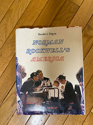 $ CDN5.45 • Buy 1976 Readers Digest Norman Rockwell's America Hardcover Book ART PAINTINGS Vtg
