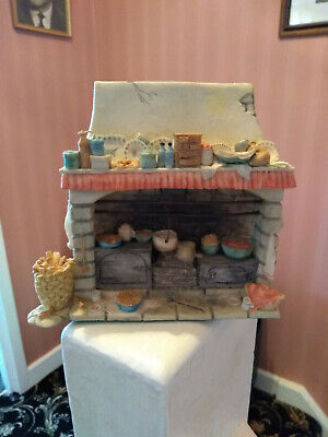BRAMBLY HEDGE By ENESCO THE FIREPLACE NEW IN BOX BIRTHDAY CHRISTMAS MICE RARE • 54.99£