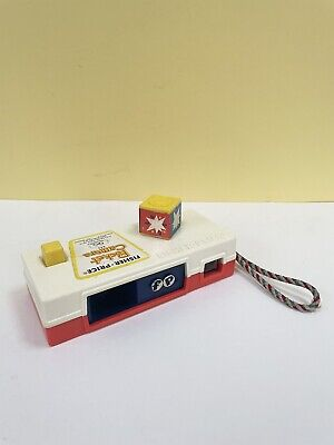 Vintage Retro Fisher Price Pocket Camera 'a Trip To The Zoo' 1974 Toy. • 10£