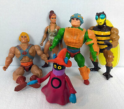 $13.50 • Buy Vintage Masters Of The Universe Figure Lot: Man-at-Arms, Teela, Orko More MOTU