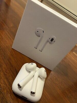 AU180 • Buy Apple AirPods 2nd Generation With Charging Case - White