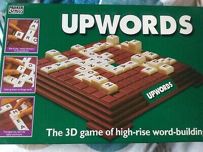 Upwords Board Game Parker Family Game • 5.50£
