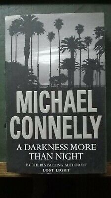 Michael Connelly A Darkness More Than Night Paperback Book • 3£