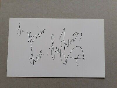 Liz Fraser  Carry On  Personally Signed Card  • 19.99£