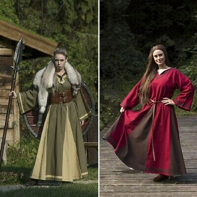 £47 • Buy Medieval / Viking Womens Astrid Dress. Perfect For Re-enactment, Costume Or LARP