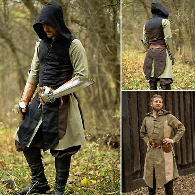 £57 • Buy Assasins Creed, Altair Hooded Vest, Tabbard, Ideal For Costume Or LARP Events