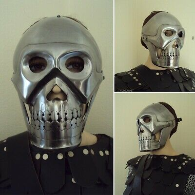 £30 • Buy Metal Skull Mask, Ideal Item For Stage, Costume Or LARP Events