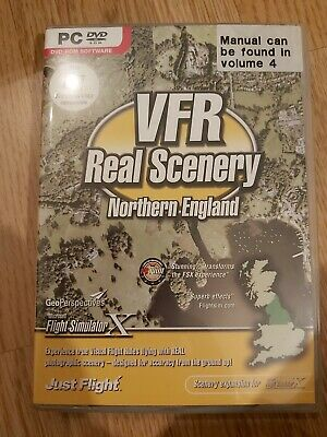 VFR Real Scenery For Northern England - FSX (PC CD)  • 0.99£