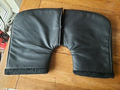 Pair Of Motorcycle Bike Scooter Moped Hand Covers Warmers Gloves Mitts  • 10£