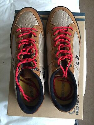 Smart Mens Fred Perry Shoes Brand New With Box Size 10 Free Delivery • 50£