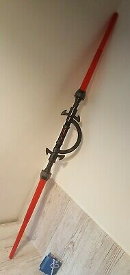 Star Wars Inquisitor Lightsaber Double Bladed Blade Hasbro  Missing Force Ring  • 14.99£