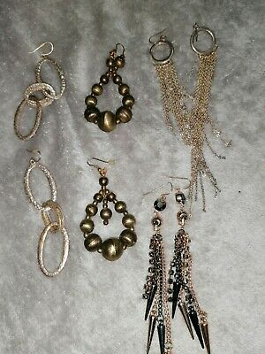 A Mixed Lot Of Brand  Jewellery  River Island, Primark Earings • 2.99£