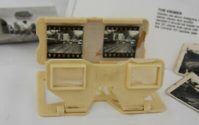 Vintage Vistascreen 3D Viewer C.1960's With Couple Of Stereoscopic Cards • 12.95£