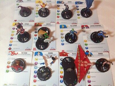 Heroclix Dc Justice League Uncommons 17-20, 23-28, 30-31. Hard To Find. • 9.99£