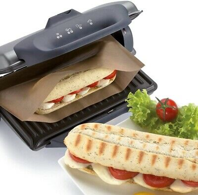 1 Reusable Panini Fish Grill Griddle Bags Toasted Sandwich Toastie Toasts Bag • 2.79£
