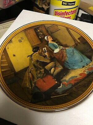 $ CDN5.45 • Buy Vintage Norman Rockwell Collector Plate W/Box COA Portrait For A Bridegroom 1987