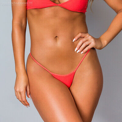 $ CDN25.95 • Buy Wicked Weasel Sexy Lava 611 Stretch Cotton Light String Back Thong