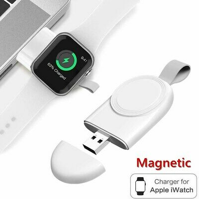 $ CDN5.45 • Buy USB Wireless Charger For Apple Watch IWatch Series 6/5/4/3/2/1 Magnetic Portable