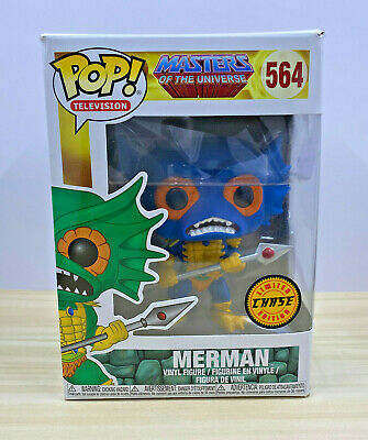 $29.50 • Buy Funko Pop! #564 Masters Of The Universe - Merman (Blue) Limited Chase Exclusive