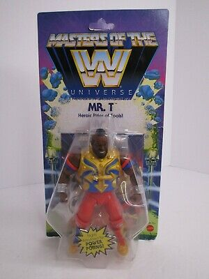 $34.99 • Buy Mattel Masters Of The WWE Universe Mr. T MOTU Wave 4 Unpunched 2020 NEW