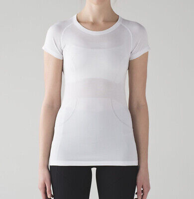 $ CDN12.96 • Buy Lululemon Swiflty Tech Short Sleeve White Size 10